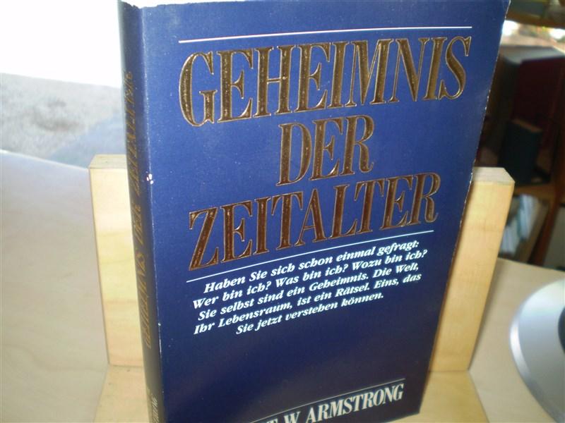 Armstrong, Herbert W.  Geheimnis der Zeitalter.