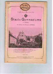 Jahresbericht des k.k. Staats-Realgymnasiums in Krems am Ende des Schuljahres 1907/1908.