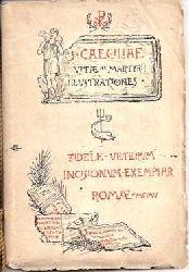 S. CAECILIAE VITAE AC MARTYRII ILLUSTRATIONES - FIDELE VETERUM INCISIONUM EXEMPLAR