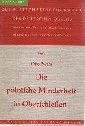 Ewers, Otto:  Die polnische Minderheit in Oberschlesien : ihre zahlenmässige Erfassung auf Grund der Ergebnisse der Landtagswahlen 1924, 1928 und 1932.