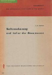 Epstein, A. D.:  Weltanschauung und Kultur der Renaissance.