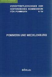 Schmidt, Roderich [Hrsg.]:  Pommern und Mecklenburg : Beiträge zur mittelalterlichen Städtegeschichte.