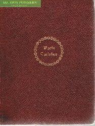 Carlyle, Thomas und Georg Jacob Wolf (Hrsg.):  Worte Carlyles. Luxusausgabe.