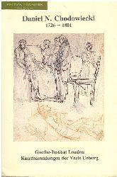 Chodowiecki, Daniel [Ill.]:  Daniel N. Chodowiecki 1726-1801 : drawings from the collection of the Veste Coburg : Zeichnungen aus dem Besitz der Kunstsammlungen der Veste Coburg  ; Goethe-Institut London, 2. November - 9. December 1989 ; Kunstsammlungen der Veste Coburg, 27. Mai - 1. Juli 1990.