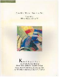 Kriss-Rettenbeck, Lenz und Franz Marc:  Franz Marc, Kleine Komposition IV. Patrimonia 60.