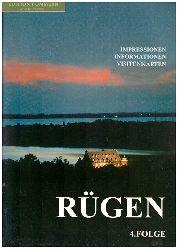 Berg, Werner und Wulf Krentzien:  Rügen - Impressionen, Informationen, Visitenkarten. Folge 4