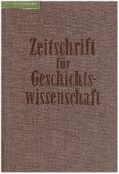 Zeitschrift für Geschichtswissenschaft (ZfG).