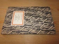 Barlach, Ernst   Graphik. 48 Lithographien und Holzschnitte. Insel-Bücherei Nr. 917