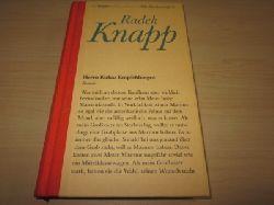 Knapp, Radek  Herrn Kukas Empfehlungen