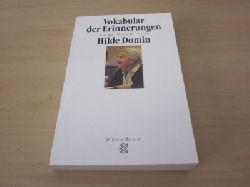 Wangenheim, Bettina von  Vokabular der Erinnerungen. Zum Werk von Hilde Domin