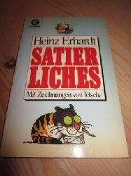 Erhardt, Heinz  Satierliches. Mit Zeichnungen von Tetsche