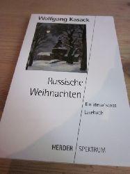 Kasack, Wolfgang  Rusische Weihnachten. Ein literarisches Lesebuch