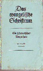 Das evangelische Schrifttum.