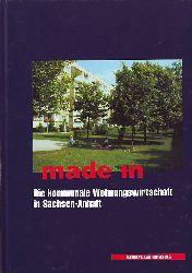 made in. Die kommunale Wohnungswirtschaft in Sachsen-Anhalt.