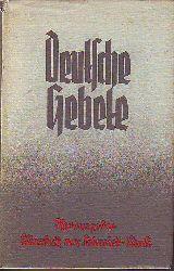 Von Schmidt-Pauli, Elisabeth (1892-1956, Hrsg.):  Deutsche Gebete.