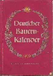 Deutscher Bauernkalender 1959.