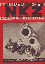 Neue Kraftfahrer-Zeitung - NKZ. Fachzeitschrift für das Kraftfahrwesen. 16. Jahrgang, Nummer 4, Stuttgart, 23. Januar 1941.
