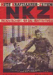 Neue Kraftfahrer-Zeitung - NKZ. Fachzeitschrift für das Kraftfahrwesen. 16. Jahrgang, Nummer 7, Stuttgart, 13. Februar 1941.