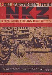Neue Kraftfahrer-Zeitung - NKZ. Fachzeitschrift für das Kraftfahrwesen. 16. Jahrgang, Nummer 14, Stuttgart, 3. April 1941.