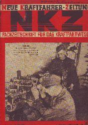 Neue Kraftfahrer-Zeitung - NKZ. Fachzeitschrift für das Kraftfahrwesen. 16. Jahrgang, Nummer 16, Stuttgart, 17. April 1941.