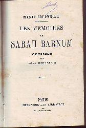 Colombier, Marie:  Les mémoires de Sarah Barnum.