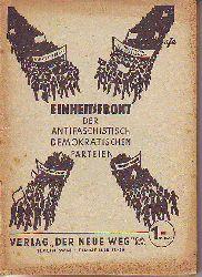 Einheitsfront der antifaschistisch-demokratischen Parteien.