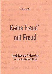 Zöller, Wolfgang:  Keine Freud´mit Freud.