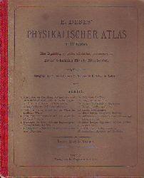 Debes, E:  Physikalischer Atlas Schul-Atlas in 17 Karten.