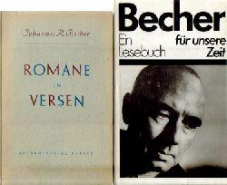 Becher, Johannes R.,  Konvolut v. 10 Büchern / 1. Abschied, (Roman),