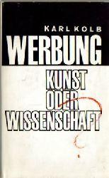 Kolb, Karl  Werbung (Kunst oder Wissenschaft)