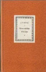 Hebel, Johann Peter  11 Titel / 1. Alemannische Gedichte