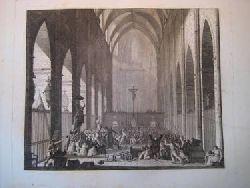 Berthault, (Jean-Gabriel) (?)  Massacre a Avignon (Gravure)