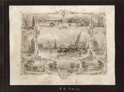 Payne, A.H.  Souvenir de Londres (Stahlstich mit 10 Motiven von London)
