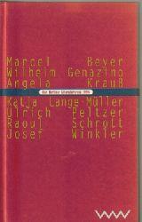 Der Berliner Literaturpreis 1996 1. Ausgabe