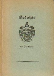 Carus, Otto  Gedichte