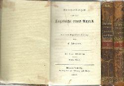 anonym, (d.i. Samuel Warren)  Mittheilungen aus dem Tagebuche eines Arztes (in drei Theilen) (aus dem englischen übersetzt v. C. Jürgens)