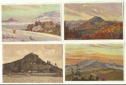 4 Ansichtskarten Motive der Rhön