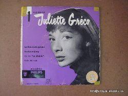 "Greco, Juliette:  2 LP / 1. La Fiancee du Pirate / Barbara Song + Ca Va ""Le Diable"" / Coin de Rue Single-Platte"
