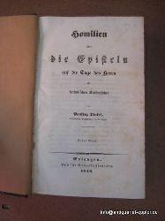 Dinkel, Pankraz  Homilien über die Evangelien auf die Tage des Herrn im katholischen Kirchenjahre