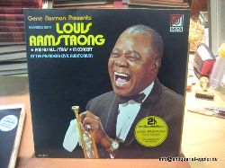 Armstrong, Louis  Gene Norman Presents an evening with Louis Armstrong and his Allstars in Concert at the Pasadena Civic Auditorium (2LP)