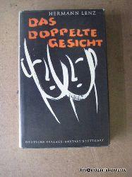 Lenz, Hermann:  Das doppelte Gesicht (3 Erzählungen)  1. Ausgabe