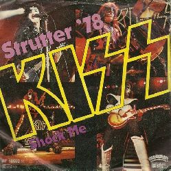 KISS  Strutter `78 + Shock me (Single 45 UpM)
