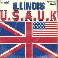 U.S.A.U.K.  Illinois + Heads you win (Single 45 UpM)