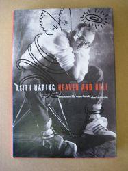"""Haring, Keith [Ill.]; Götz [Hrsg.] Adriani und Ralph Melcher  Keith Haring - heaven and hell (23.9.2001 - 6.1.2002, Museum für Neue Kunst, ZKM Karlsruhe ; [zur Ausstellung """"Keith Haring - Heaven and Hell""""])"""