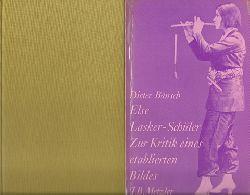 Lasker-Schüler, Else  2 Titel / 1. Sämtliche Gedichte (Hg. Friedhelm Kemp)