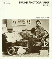 Albert, Ditmar [Mitverf.] und Siegfried [Hrsg.] Tann  Frühe Photographie (1840 - 1914 das optische Gedächtnis der Bodensee-Landschaft)