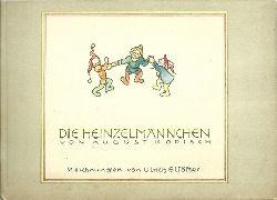 Kopisch, August:  Die Heinzelmännchen (Erinnerungsprogramm an das Marionettenspiel)  1. Ausgabe