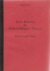 Wagner, Richard - RWF (Hg.):  Preis-Schreiben der Richard Wagner-Freunde (RWF) 1. Auflage