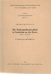 Neuffer-Müller, Christiane:  Ein Reihengräberfriedhof in Sontheim an der Brenz (Kreis Heidenheim) 1. Auflage