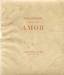 anonym  Pensamientos sobre el amor